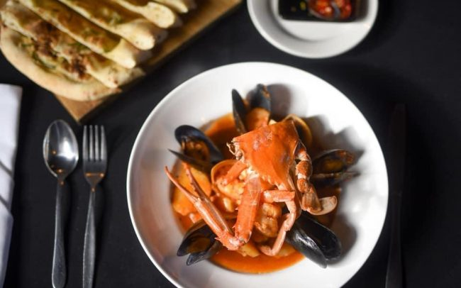 San Marco Crab Dish | Exceptional Italian Food