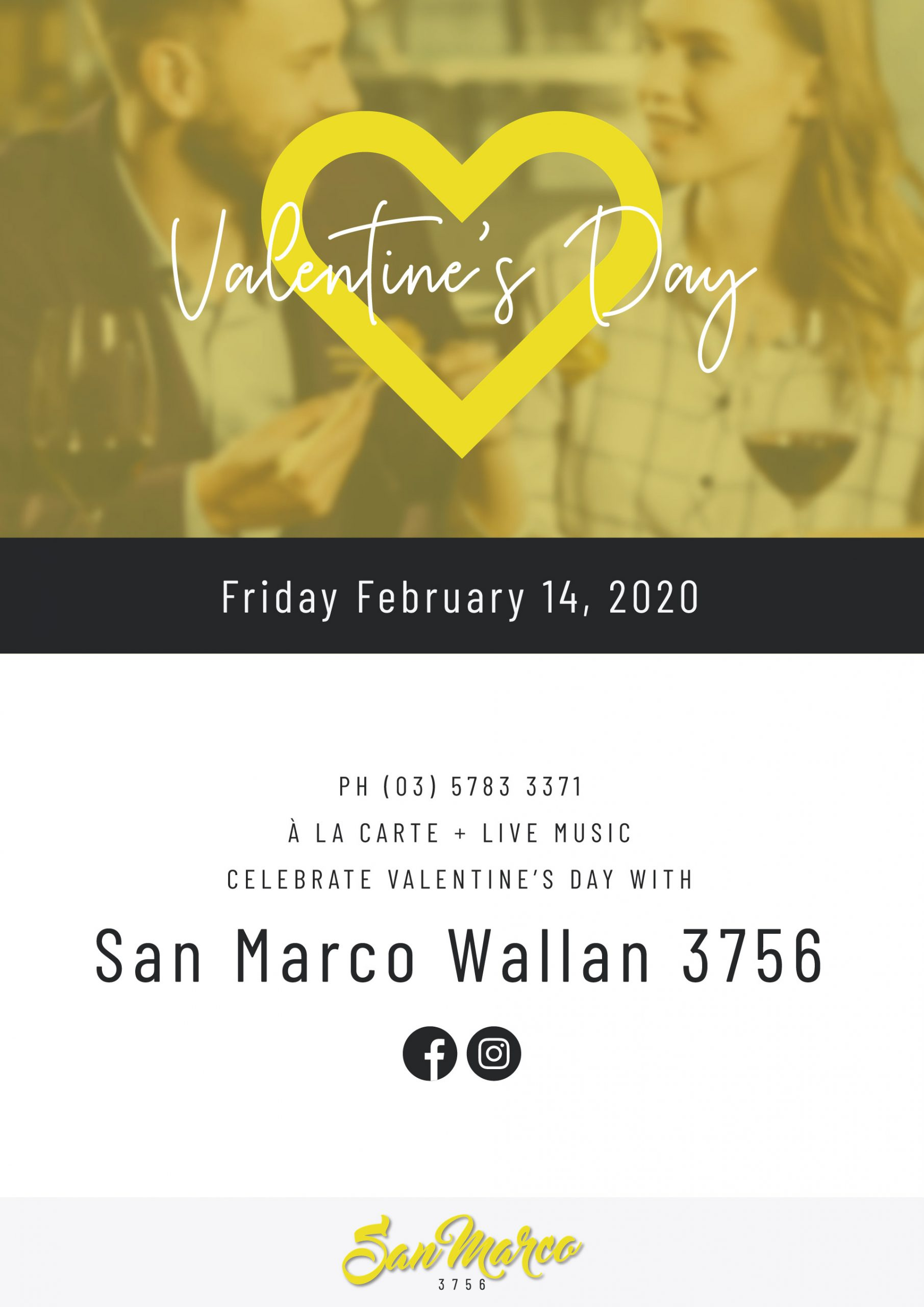 Valentine's Day Poster | San Marco Wallan